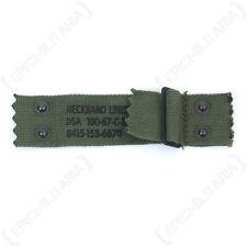 ORIGINAL POST-WW2 US ARMY M1 HELMET LINER NAPE STRAP