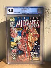 New mutants 98 cgc 9.8 (Deadpool's 1st appearance) 2140386001