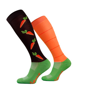 ODDities Novelty Riding Socks. Comfort footwear for riding or just wearing !