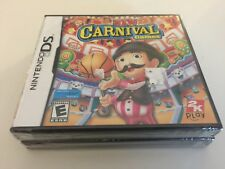 New Carnival Games (Nintendo DS, 2010) DS NEW