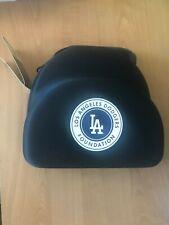 New Era Black 2 Pack Cap Carrier Case Travel Bag w/ Shoulder Strap  DODGERS!!