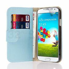 Cartera De Cuero Funda cubierta para Samsung Galaxy Teléfono móvil + protector de pantalla