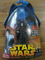 Star Wars 2005 Revenge of the Sith EMPEROR PALPATINE Figure Brand New