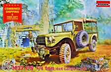 Roden 806 - 1/35 - M37 US 3/4 TON 4X4 Cargo US military truck car WWII model kit