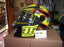 CASCO INTEGRALE CARBONIO AGV PISTA GP TOP SOLELUNA QATAR 2015 TG MS