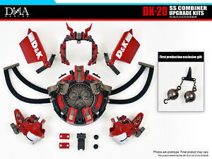New Transformation toys DNA Design DK-20 SS Combiner Upgrade Kit In Stock