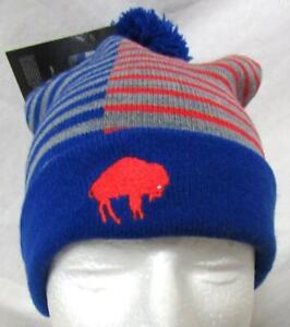 Buffalo Bills Unisex OSFM Nike Cuffed Beanie with Removable Pom Hat Cap E1 1148