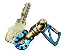 KYLINK EDC Sailor shackle Keychain with Swivel Jib Ti Tuning Fork Swivel, Lucky