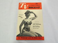 1952 August 9-15 TV DIGEST Magazine / Mini Barbara Logan (Pittsburgh) - EUC!