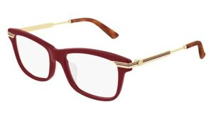 NEW Gucci Web GG 0524O Eyeglasses 008 100% AUTHENTIC