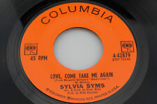 Sylvia Syms: Love, Come Take Me Again / Sweet September  [Unplayed Copy]