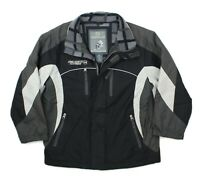 Free Country Extreme Performance Boys Black Fleece Lined Winter Jacket L (10-12)