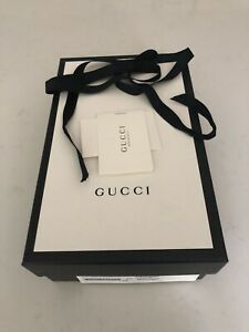 Made in italy Authentic Gucci Empty Shoes Box gift box & Ribbon& Card