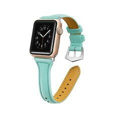 Leather Watch Band Strap Bracelet for iWatch Apple Watch Series 3/2/1 38mm 42mm