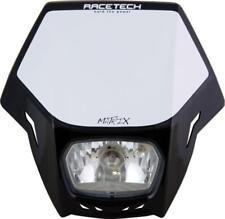 Plaque phare Moto Enduro Racetech MATRIX NOIR