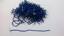 Etiquetas del Tesoro 200mm (8 pulgadas) extremos de plástico, azul, de enclavamiento extremos Pack de 100