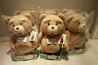 """TED MOVIE LIFESIZE 24"""" RATED R ELECTRONIC TALKING PLUSH TEDDY BEAR-NEW"""