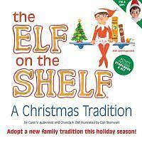 Elf on the Shelf: A Christmas Tradition (blue-eyed girl scout elf) by