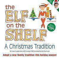 The Elf on the Shelf - Book ONLY - Girl - Hardcover - 1st Edition
