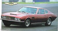 Aston Martin DBS SPEC SHEET/Brochure:1970,1971,1972,..