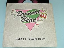 "Bronski Beat  – Smalltown Boy / Memories 45 7"" Germany 1984 Metronome Label"