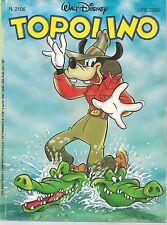 TOPOLINO N° 2106 - 9  APRILE 1996