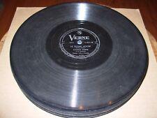 CLAUDIO FERRER los celos de mi compay / ultima noche - 78 rpm verne 211 -