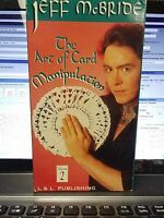 Jeff McBride The Art of Card Manipulation vol 2 vhs video tape Magic