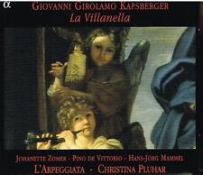 Kapsberger: La Villanella / L'Arpeggiata, Pluhar, Zomer, De Vittorio - CD