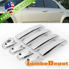 US Triple Chrome Side Door Handle Cover Trim Fit for Chrysler 300 300C 2005-2010