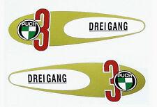 Puch VS 50 Tanque D Cable Juego De Pegatinas L/R con Original puch Emblema