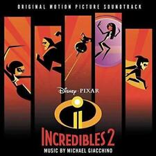 Disney Pixar - The Incredibles 2 - OST - New CD - Released 15th June 2018