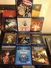 Anime Blu Ray Lot - Sailor Moon, Spirited Away, Final Fantasy And More