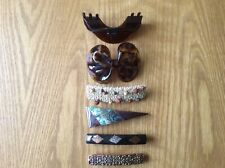 Another Six Hair Slides, Clips, Fixings, Hair Accessories, Hair Furniture.