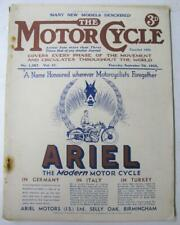 The Motor Cycle 14 Sep 1933 Magazine Manx Grand Prix Report Nortons New Imperial