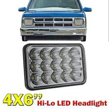 "4x6"" 75W CREE LED Headlight Crystal Sealed Projector High/Low Beam For Chevrolet"