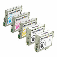 Reman Ink Cartridge set of 5 for Epson C86 T0431 T0442 T0443 T0444