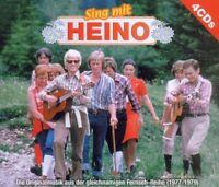"""HEINO """"SING MIT HEINO"""" 4 CD SET NEUWARE"""