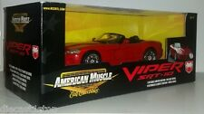1:18 Scale ERTL American Muscle Dodge Viper SRT-10 - Red