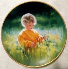 """8.5"""" March Of Dimes A Time For Peace Collectors Plate Knowles 1989 #ed"""