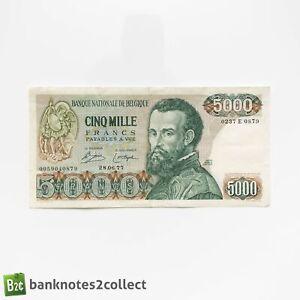 BELGIUM: 1 x 5,000 Belgian Franc Banknote. Dated 28.06.77.