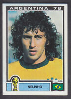 Panini - Argentina 78 World Cup - # 245 Nelinho - Brasil