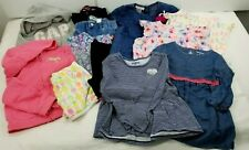 Lot Of 12 Girls 5T Clothes Shirts Pants Shorts Dress Denim Toddler Sweater