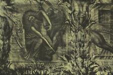 Ernst FUCHS Radierung aus dem Zyklus Samson - Samson kämpft mit dem Löwen