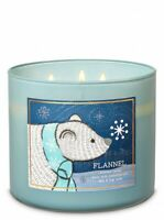 Bath & Body Works FLANNEL 3-Wick Large Scented Candle -  2020 WINTER Collection