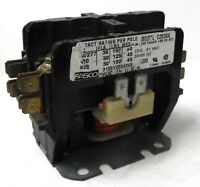 FASCO C2S30A MAGNETIC CONTACTOR, 2 POLE, 30A, DEFINITE PURPOSE, 24 VAC COIL