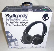 New Skullcandy Hesh 2 Bluetooth Wireless Headphones Onboard Mic / Remote Black