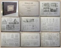 Lübke Denkmäler der Kunst 1864 bildende Künste Volskausgabe 56 Tafeln xz