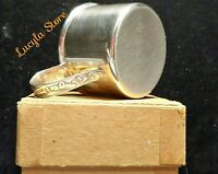Antique Vintage Lunt Sterling Silver 925 Mini Baby Cup Train Blocks Kid