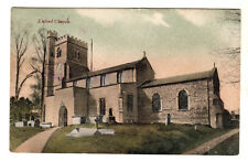 Enford Church - Photo Postcard 1910 / Bulford